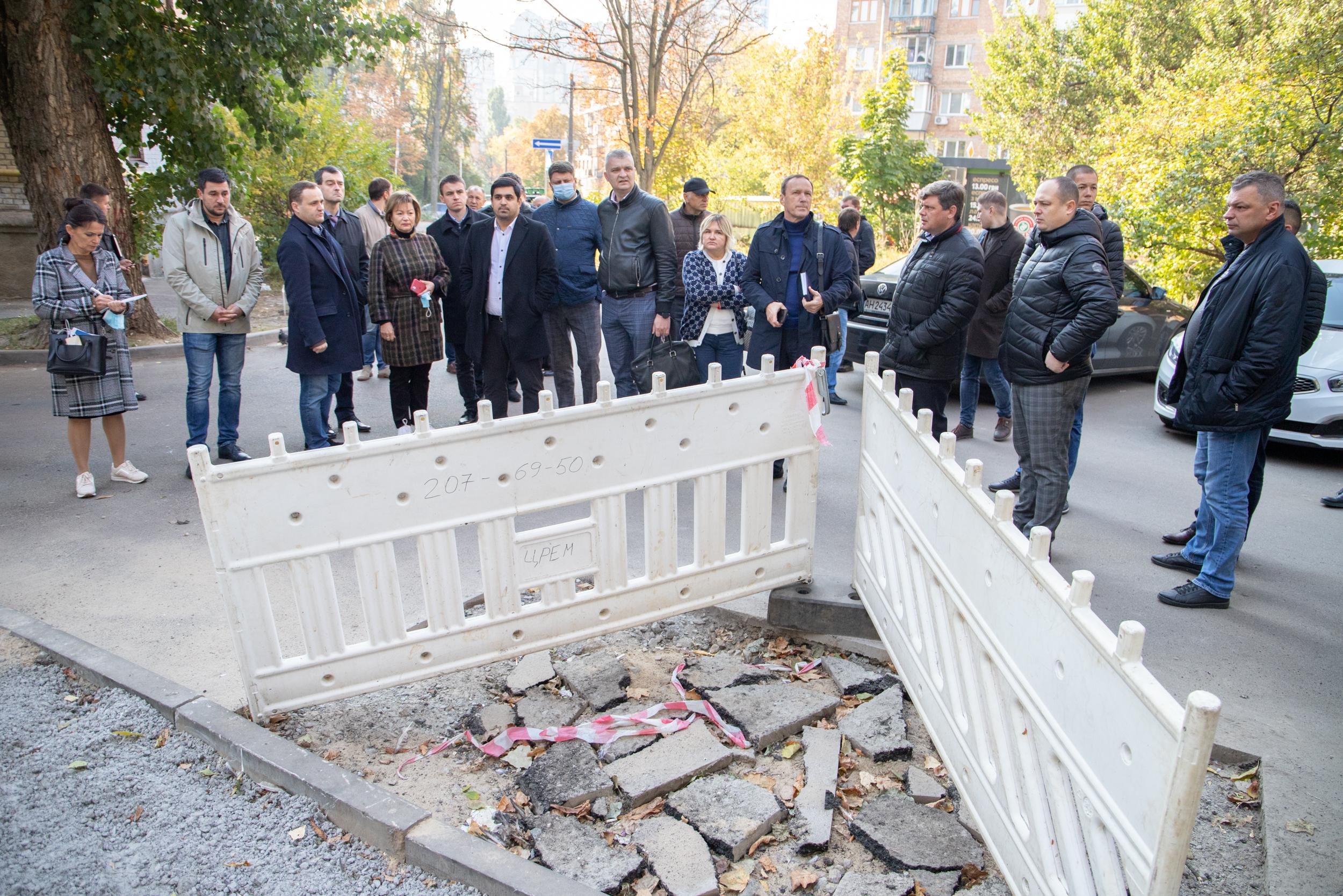 Контрольне виїзне обстеження провели у Шевченківському та Печерському районах